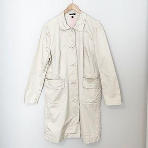 Jacob XL Light Beige Trench Coat EUC